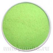 Салатовый кварцевый песок скраб 150 гр