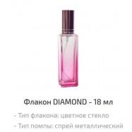 Флакон спрей 18 мл розовый