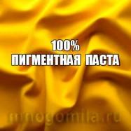 Пигментная паста желтая 100 % 10 мл