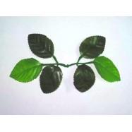 Листья для роз зеленые, под стебель