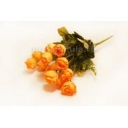 Розочки оранжевые