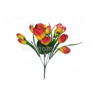 Тюльпаны жёлто-красные