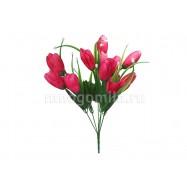 Тюльпаны малиновые
