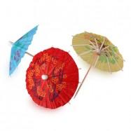 Декор зонтик в ассортименте 1 шт
