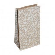 Крафт-пакет, растительный орнамент