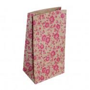 Крафт-пакет, цветы
