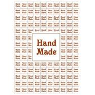 Наклейки Hand Made 140 шт на листе