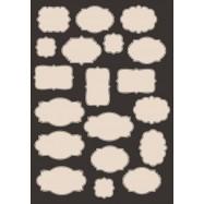 Вырубные самоклеющиеся этикетки, Пустые