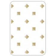Пакет с рисунком золотые квадратики
