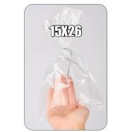 Пакетик целлофановый 15х26 см