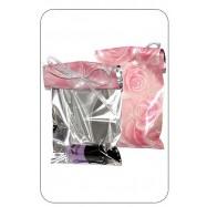 Пакет полу метал, розовые розы