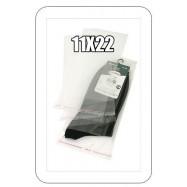 Пакетик целлофановый на липкой молнии 11х22см