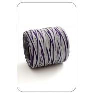 Рафия фиолетово-пепельная 1 метр