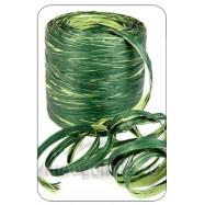 Рафия оттенки зеленого 1 метр