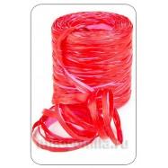 Рафия красно-розовая 1 метр