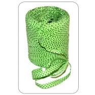 Рафия зелёный горошек 1 метр