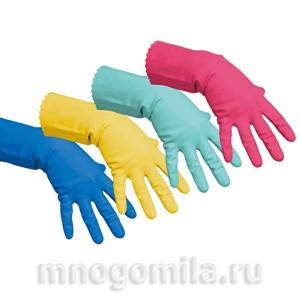 Перчатки кислото-щелочестойкие размер М
